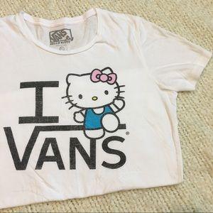 Hello Kitty Vans t-shirt